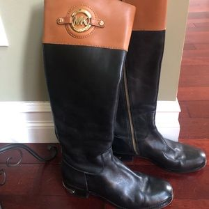 Michael Kors Two Toned Riding Boot